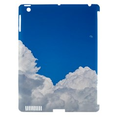 Sky Clouds Blue White Weather Air Apple Ipad 3/4 Hardshell Case (compatible With Smart Cover) by BangZart