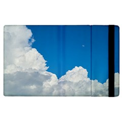 Sky Clouds Blue White Weather Air Apple Ipad 3/4 Flip Case by BangZart