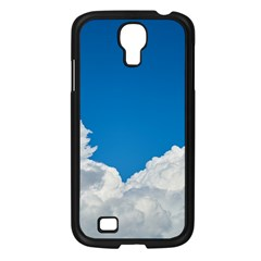 Sky Clouds Blue White Weather Air Samsung Galaxy S4 I9500/ I9505 Case (black) by BangZart
