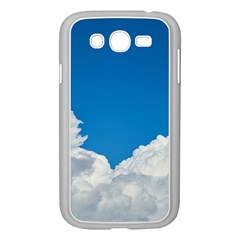 Sky Clouds Blue White Weather Air Samsung Galaxy Grand Duos I9082 Case (white) by BangZart