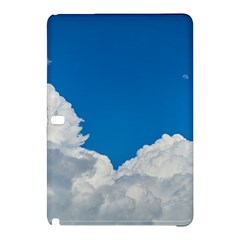 Sky Clouds Blue White Weather Air Samsung Galaxy Tab Pro 10 1 Hardshell Case by BangZart