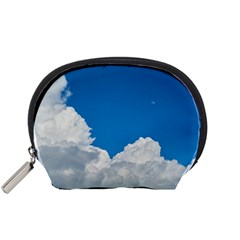 Sky Clouds Blue White Weather Air Accessory Pouches (small)  by BangZart
