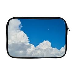Sky Clouds Blue White Weather Air Apple Macbook Pro 17  Zipper Case
