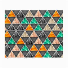 Abstract Geometric Triangle Shape Small Glasses Cloth (2 Side) by BangZart