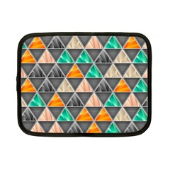 Abstract Geometric Triangle Shape Netbook Case (small)  by BangZart