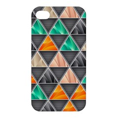 Abstract Geometric Triangle Shape Apple Iphone 4/4s Hardshell Case by BangZart