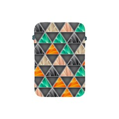Abstract Geometric Triangle Shape Apple Ipad Mini Protective Soft Cases by BangZart