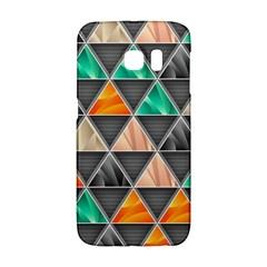 Abstract Geometric Triangle Shape Galaxy S6 Edge