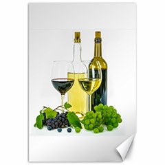 White Wine Red Wine The Bottle Canvas 20  X 30   by BangZart