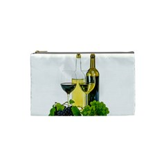 White Wine Red Wine The Bottle Cosmetic Bag (small)  by BangZart