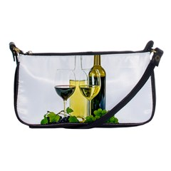 White Wine Red Wine The Bottle Shoulder Clutch Bags by BangZart