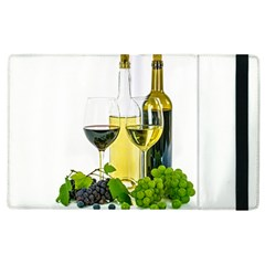 White Wine Red Wine The Bottle Apple Ipad 3/4 Flip Case by BangZart