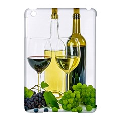 White Wine Red Wine The Bottle Apple Ipad Mini Hardshell Case (compatible With Smart Cover) by BangZart