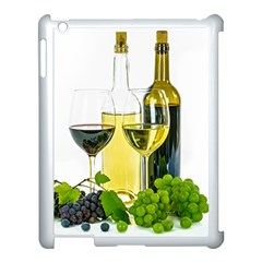 White Wine Red Wine The Bottle Apple Ipad 3/4 Case (white) by BangZart