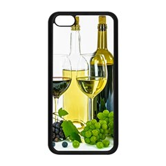 White Wine Red Wine The Bottle Apple Iphone 5c Seamless Case (black) by BangZart