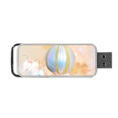 Sphere Tree White Gold Silver Portable Usb Flash (one Side) by BangZart