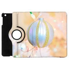 Sphere Tree White Gold Silver Apple Ipad Mini Flip 360 Case by BangZart