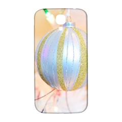 Sphere Tree White Gold Silver Samsung Galaxy S4 I9500/i9505  Hardshell Back Case by BangZart