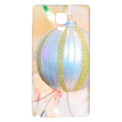 Sphere Tree White Gold Silver Galaxy Note 4 Back Case by BangZart