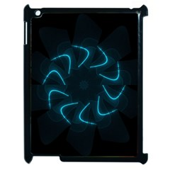 Background Abstract Decorative Apple Ipad 2 Case (black) by BangZart