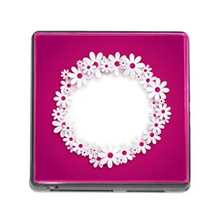 Photo Frame Transparent Background Memory Card Reader (square) by BangZart