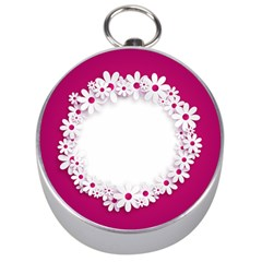 Photo Frame Transparent Background Silver Compasses by BangZart