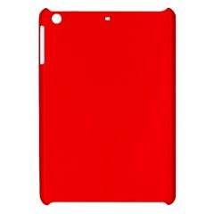 Solid Christmas Red Velvet Apple Ipad Mini Hardshell Case by PodArtist