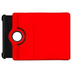 Solid Christmas Red Velvet Kindle Fire Hd 7  by PodArtist
