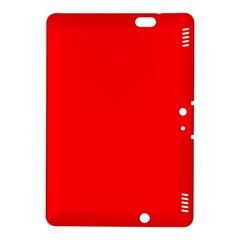 Solid Christmas Red Velvet Kindle Fire HDX 8.9  Hardshell Case