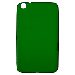 Solid Christmas Green Velvet Classic Colors Samsung Galaxy Tab 3 (8 ) T3100 Hardshell Case  by PodArtist