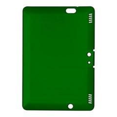 Solid Christmas Green Velvet Classic Colors Kindle Fire Hdx 8 9  Hardshell Case by PodArtist