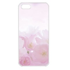 Pink Blossom Bloom Spring Romantic Apple Iphone 5 Seamless Case (white) by BangZart