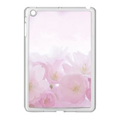 Pink Blossom Bloom Spring Romantic Apple Ipad Mini Case (white) by BangZart