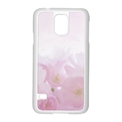 Pink Blossom Bloom Spring Romantic Samsung Galaxy S5 Case (white) by BangZart