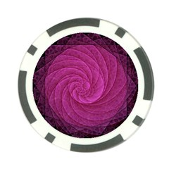 Purple Background Scrapbooking Abstract Poker Chip Card Guard by BangZart