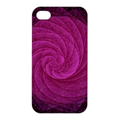 Purple Background Scrapbooking Abstract Apple Iphone 4/4s Hardshell Case by BangZart