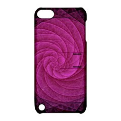 Purple Background Scrapbooking Abstract Apple Ipod Touch 5 Hardshell Case With Stand by BangZart