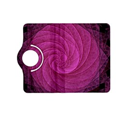 Purple Background Scrapbooking Abstract Kindle Fire Hd (2013) Flip 360 Case by BangZart
