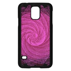 Purple Background Scrapbooking Abstract Samsung Galaxy S5 Case (black) by BangZart