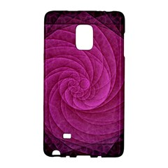 Purple Background Scrapbooking Abstract Galaxy Note Edge by BangZart