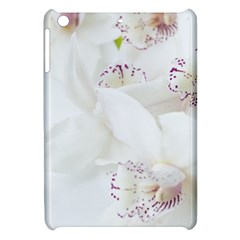 Orchids Flowers White Background Apple Ipad Mini Hardshell Case by BangZart