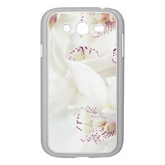 Orchids Flowers White Background Samsung Galaxy Grand Duos I9082 Case (white) by BangZart