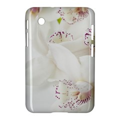 Orchids Flowers White Background Samsung Galaxy Tab 2 (7 ) P3100 Hardshell Case