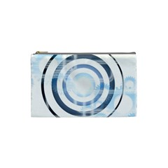 Center Centered Gears Visor Target Cosmetic Bag (small)  by BangZart