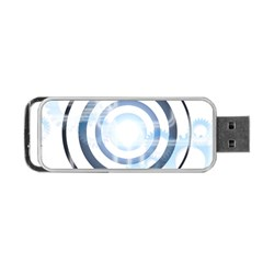 Center Centered Gears Visor Target Portable Usb Flash (one Side) by BangZart