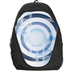 Center Centered Gears Visor Target Backpack Bag by BangZart