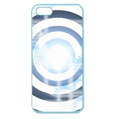 Center Centered Gears Visor Target Apple Seamless Iphone 5 Case (color) by BangZart