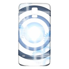 Center Centered Gears Visor Target Samsung Galaxy S5 Back Case (white) by BangZart