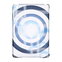 Center Centered Gears Visor Target Apple Ipad Mini Hardshell Case (compatible With Smart Cover) by BangZart
