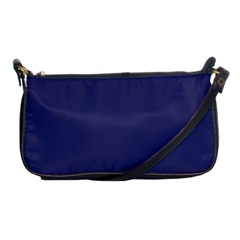 Usa Flag Blue Royal Blue Deep Blue Shoulder Clutch Bags by PodArtist
